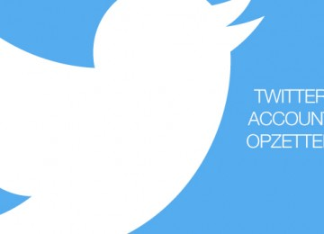 Een Twitter account opzetten