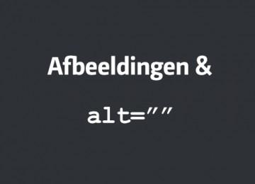 Afbeeldingen optimaliseren met de ALT tag