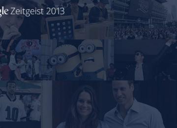 Google Zeitgeist overzicht van 2013
