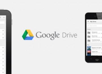 Standalone apps van Google Drive