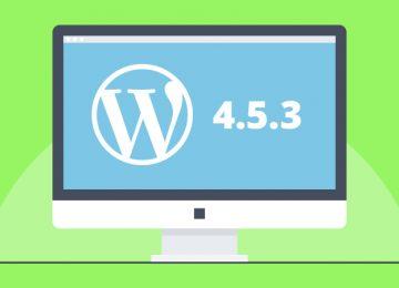 WordPress 4.5.3 update beschikbaar