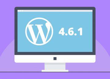 Wordpress 4.6.1 update beschikbaar